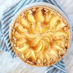 Peach Pie Recipe with Almond Cream is the dessert of your dreams: a buttery crust filled with a delicious almond cream topped with some juicy fresh peaches. You will not be able to top that one! The recipe is easy and I have all the steps explained if you have any questions along the way.  Are you wondering how to make a peach pie? This recipe is the opportunity to learn two classic pastry techniques: how to make a pie crust and almond cream. Do not be intimidated; I'll breakdown all the…
