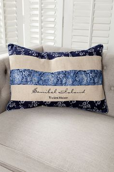 Das Sanibel Island Pillow 45x65 von Rivièra Maison. Erhältlich bei www.villa-riviera.de !