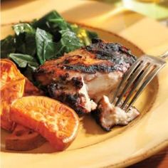 Homemade jerk chicken on the grill -- fantastic for Phase 3 of the #FastMetabolismDiet. You can skip the sugar in this recipe, or sub a sprinkle of stevia for a little sweetness in the spice rub.