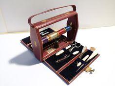 Victorian c1880 Ladies Handbag Sewing Etui Box HANDBAG Shape