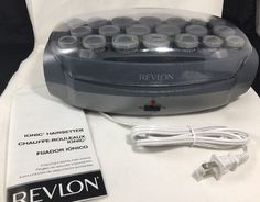 REVLON RV261 20 PIECE Ionic Prof Hairsetter HOT ROLLERS Electric HAIR CURLERS  | eBay