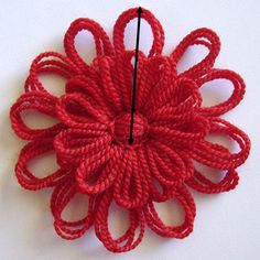 Flower Looms: Solomon's Knot Join Tutorial step by step ✿Teresa Restegui http://www.pinterest.com/teretegui/✿