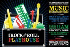 Bowling, eating, drinking and enjoy music at the Brooklyn Bowl