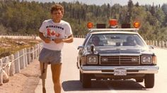 Terry Fox, after losing one of his legs to cancer; embarked on an east to west coast marathon in Canada to raise money for cancer research. He made it 143 days into his run before he lost his battle with cancer at the age of 22 - 1980 - nextfuckinglevel Order Of Canada, Canada Eh, Autumn Activities For Kids, Canadian History, Reading Lessons, Learn English, English Lessons, How To Raise Money, British Columbia