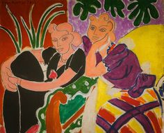 Henri Matisse - The Conversation, 1938 at San Francisco Museum of Modern Art - viewed at the Legion of Honor (by mbell1975)