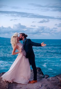 Tips on Eloping in Hawaii on Borrowed & Blue.  Photo Credit: Photography by MARIAH MILAN