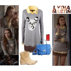 """Lydia Martin"" by pinky44 on Polyvore"