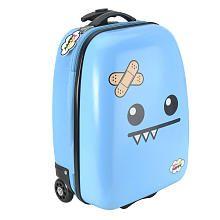So So Happy Ozzie Rolling Luggage - Blue