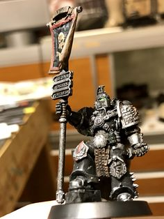 40k Deathwatch Captain conversion