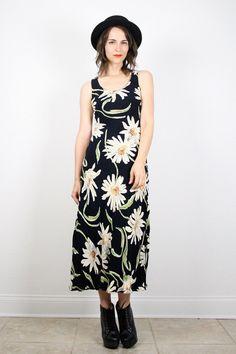 Vintage Daisy Dress Grunge Dress 90s Dress by ShopTwitchVintage