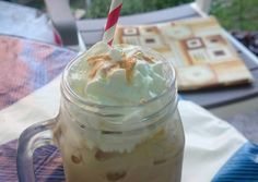 Starbucks, Peanut Butter, Mason Jars, Pudding, Mugs, Tableware, Food, Dinnerware, Custard Pudding