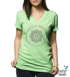 You are among the wildflowers | Phi Mu | Made by University Tees | www.universitytees.com  Love this!