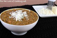 Homemade Refried Beans: http://www.fortheloveofcooking.net/2015/02/homemade-refried-beans.html