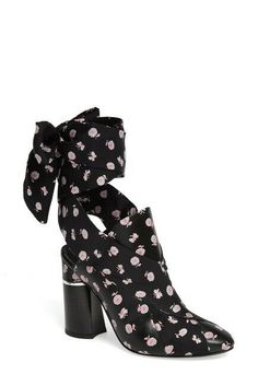 c97ac6d2234 NIB 3.1 Philip Lim Drum Scarf Tie Floral Printed Bootie Size 9.5M  #31PhillipLim #