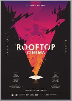 Rooftop cinema Poster