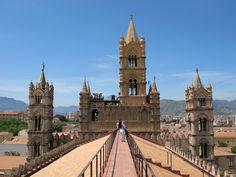 Sul tetto della Cattedrale di Palermo - Sicilia