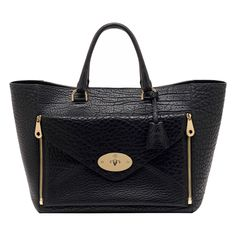 Mulberry Willow Tote in Black