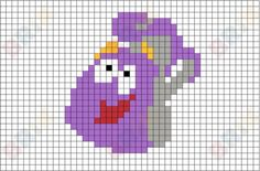 Backpack Pixel Art