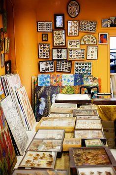 Hunt Slonem studio « The Selby