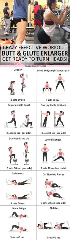 #womensworkout #workout #femalefitness Repin and share if this workout gave you a big booty! Click the pin for the full workout.