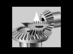 Bevel gear mechanical transmission part