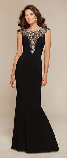 Junoesque Chiffon Bateau Neckline Floor-length Mother of the Bride Dresses with Delicate Rhinestones