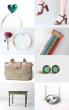Spring gifts II by MissMayo on Etsy--Pinned with TreasuryPin.com #handmade #vintage #etsy #spring #gifts #forwomen #2015 #trends