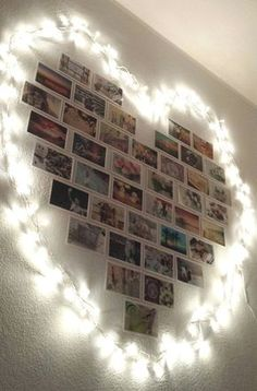 House decoration - 20 ideas that will inspire you to put pictures on your wall . - Bilder an Wand Ideen - Pictures on Wall ideas Decoration Photo, Decoration Bedroom, Decoration Pictures, Room Decor With Pictures, Romantic Bedroom Decor, Photowall Ideas, Cute Room Decor, Aesthetic Rooms, Master Bedroom Design