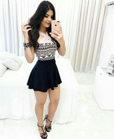 Ultimate fashion guide to help you look fantastic is one of our best outfits for ladies. Skirt Outfits, Dress Skirt, Casual Outfits, Summer Outfits, Cute Outfits, Sexy Dresses, Cute Dresses, Beautiful Dresses, Short Dresses