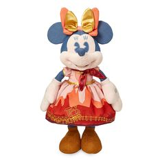 Minnie Mouse: The Main Attraction Plush – Big Thunder Mountain Railroad – Limited Release   shopDisney