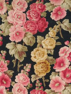 background, flowers, pattern, wallpaper