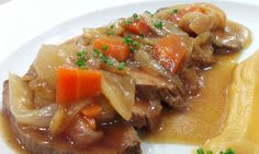 Receta => solomillo de cerdo en salsa de manzana