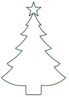 елка для вырезания из бумаги на окна трафарет Christmas Tree Template, Snowflake Template, Christmas Card Crafts, Felt Christmas, Christmas Decorations, Christmas Doodles, Christmas Drawing, Office Christmas, Christmas Design