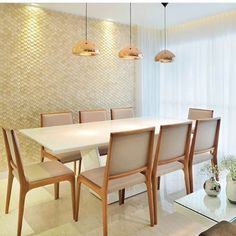 13 elegant dining ideas to make your meal the best time of the day! Kitchen Dinning, Dinning Table, Dining Area, Dinner Room, Interior Decorating, Interior Design, Elegant Dining, Dining Room Design, Luxury Interior