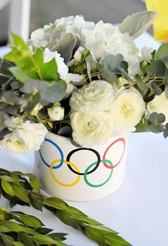 Olympic Rings Floral