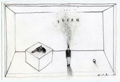 david lynch, drawing