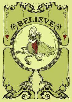 Believe Art Print by Abigail Larson Graphite Drawings, Art Drawings, Abigail Larson, Disney Concept Art, Creepy Art, Gothic Art, Horror Art, Dark Art, Art Images
