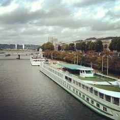 Rouen - Vue du Pont Corneille