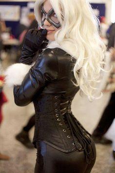 blond catwoman