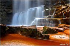 Iguacu, Chapada Diamantina, Canion da Fumacinha, Cachoeira do Buracao ...
