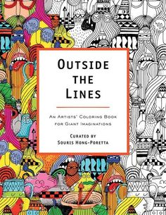 Fancy - Outside the Lines: An Artists' Coloring Book for Giant Imaginations