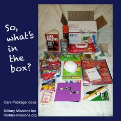 in the care package? - Military Missions Inc - Supporting Military ...