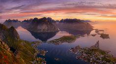 Reine #Norway Lofotens Reinebringen Reine Автор: Дмитрий Титов