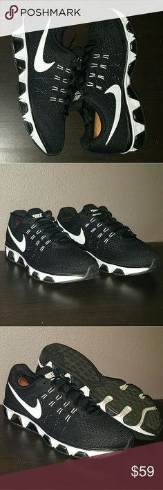 e000240fef87c Shop Women s Nike Black White size Athletic Shoes at a discounted price at  Poshmark.