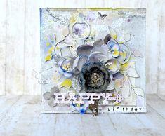 Blue Fern Studios - Happy Birthday - Scrapbook.com