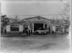 Newton's Garage Lake Ronkonkoma Wreckers Automobiles Long Island New York 1910
