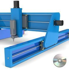 Our CNC Router Plans will guide you to build a CNC Router mainly from basic hardware store items, and with standard tools used for woodworking, plan set includes fixed and moving gantry models to select from Cnc Router Table, Cnc Router Plans, Diy Cnc Router, Cnc Plans, Cnc Woodworking, Easy Woodworking Projects, Woodworking Furniture, Furniture Plans, Kids Furniture