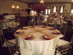 Beautiful Gold Chiavari Chairs at Polo Fields in Ann Arbor, MI. - Chiavari Chair Rental  #MIWedding #PureMichigan #Michigan #PoloFields #Wedding #Reception #Red