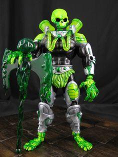 Toxis, custom Masters of the Universe Classics original character