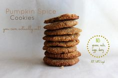 Pumpkin Spice Cookies You Can Actually Eat! #paleo, #AIP, #GAPS, #GF, #V